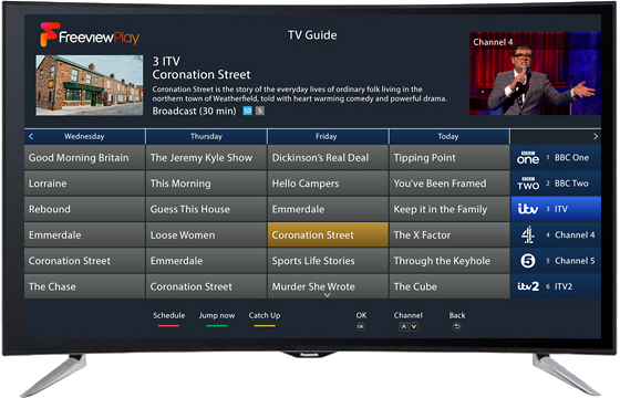 Freeview Play Delivers Next Generation TV User Experience with HbbTV